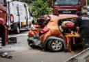 Passageiros ficam presos às ferragens após carro ser atingido por dois caminhões na BR-163 em Campo Grande