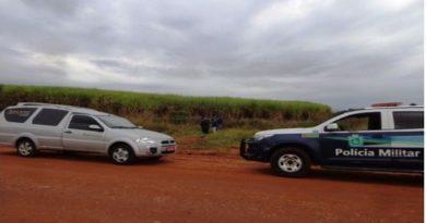 NAVIRAÍ: Corpo de homem é encontrado as margens de estrada com dois tiros na cabeça