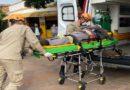 IVINHEMA: Motociclista fica ferido em acidente na Avenida Panamá