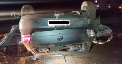 Motorista morre após colidir com caminhão e capotar veículo em rodovia estadual