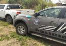 Caminhonete roubada em Minas Gerais é recuperada na região de fronteira