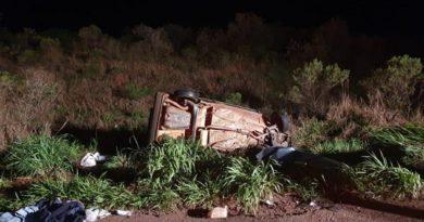 Motorista que morreu em capotamento na MS-141 será sepultado em Novo Horizonte do Sul