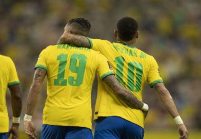 Com brilho de Neymar e Raphinha, Brasil goleia Uruguai