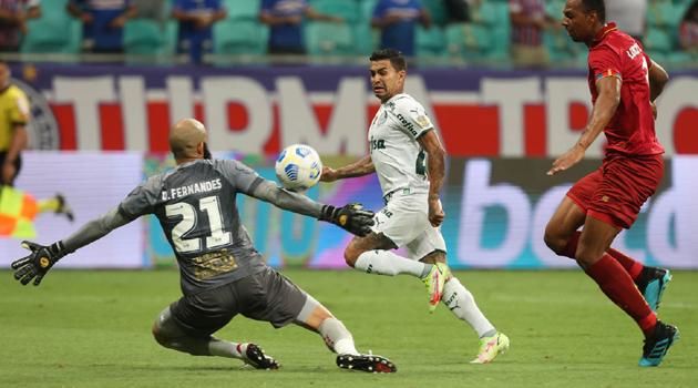 Bahia e Palmeiras empatam sem gols em Salvador